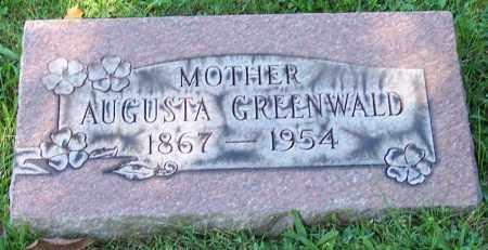 GREENWALD, AUGUSTA - Stark County, Ohio | AUGUSTA GREENWALD - Ohio Gravestone Photos