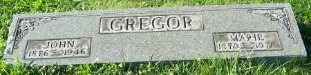 GREGOR, MARIE - Stark County, Ohio | MARIE GREGOR - Ohio Gravestone Photos