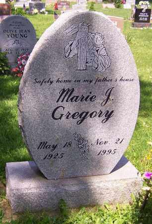 GREGORY, MARIE J. - Stark County, Ohio | MARIE J. GREGORY - Ohio Gravestone Photos