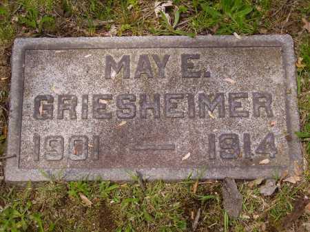 GRIESHEIMER, MAY E. - Stark County, Ohio | MAY E. GRIESHEIMER - Ohio Gravestone Photos