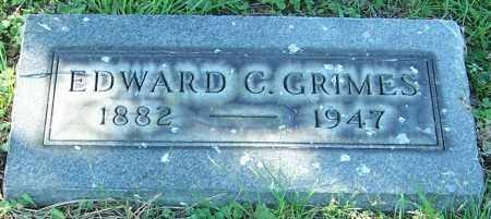 GRIMES, EDWARD C. - Stark County, Ohio | EDWARD C. GRIMES - Ohio Gravestone Photos