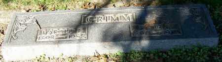 GRIMM, HAROLD E. - Stark County, Ohio | HAROLD E. GRIMM - Ohio Gravestone Photos
