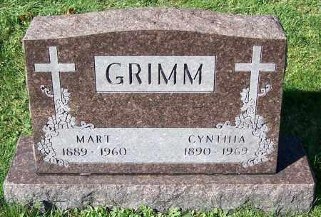 GRIMM, CYNTHIA - Stark County, Ohio | CYNTHIA GRIMM - Ohio Gravestone Photos