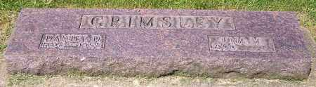 GRIMSLEY, UNA M. - Stark County, Ohio | UNA M. GRIMSLEY - Ohio Gravestone Photos