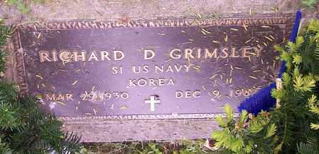 GRIMSLEY, RICHARD D. - Stark County, Ohio | RICHARD D. GRIMSLEY - Ohio Gravestone Photos