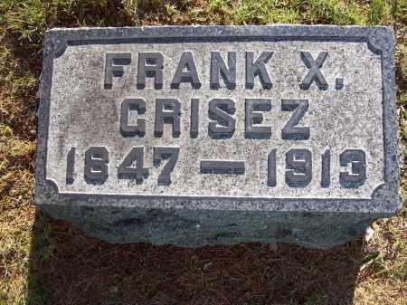 GRISEZ, FRANK X. - Stark County, Ohio | FRANK X. GRISEZ - Ohio Gravestone Photos