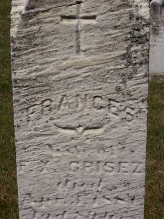 BOQUET GRISEZ, FRANCES - Stark County, Ohio | FRANCES BOQUET GRISEZ - Ohio Gravestone Photos