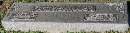GROVEMILLER, CARRIE P. - Stark County, Ohio | CARRIE P. GROVEMILLER - Ohio Gravestone Photos