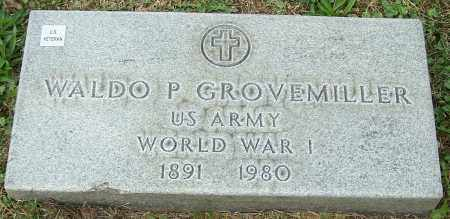 GROVEMILLER, WALDO P. - Stark County, Ohio | WALDO P. GROVEMILLER - Ohio Gravestone Photos
