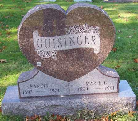GUISINGER, MARIE G. - Stark County, Ohio | MARIE G. GUISINGER - Ohio Gravestone Photos