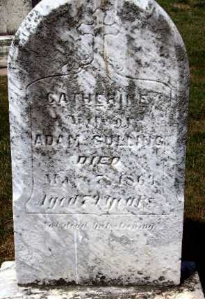 GULLING, CATHERINE - Stark County, Ohio | CATHERINE GULLING - Ohio Gravestone Photos