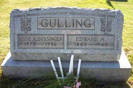 GULLING, EDWARD M. - Stark County, Ohio | EDWARD M. GULLING - Ohio Gravestone Photos