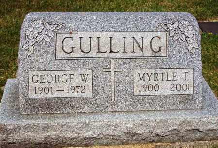 GULLING, GEORGE W. - Stark County, Ohio   GEORGE W. GULLING - Ohio Gravestone Photos