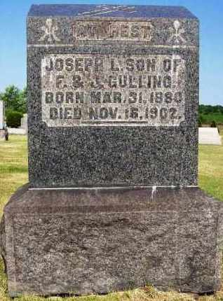 GULLING, JOSEPH L. - Stark County, Ohio | JOSEPH L. GULLING - Ohio Gravestone Photos