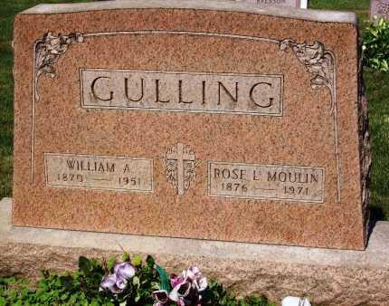 GULLING, WILLIAM A. - Stark County, Ohio | WILLIAM A. GULLING - Ohio Gravestone Photos