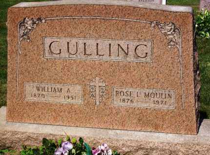 GULLING, WILLIAM A. - Stark County, Ohio | WILLIAM A. GULLING - Ohio Gravestone Photos