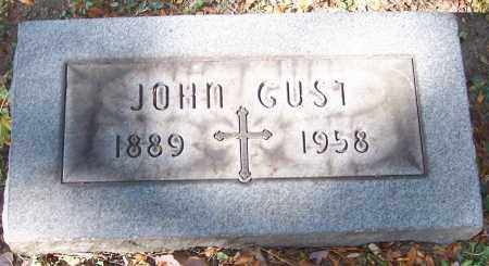 GUST, JOHN - Stark County, Ohio | JOHN GUST - Ohio Gravestone Photos