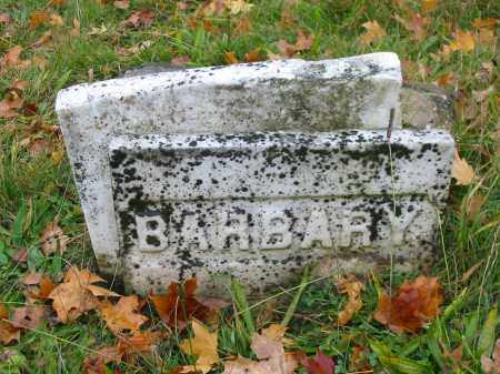 HAAG, BARBARY - Stark County, Ohio | BARBARY HAAG - Ohio Gravestone Photos