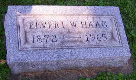 HAAG, ELVERT W. - Stark County, Ohio | ELVERT W. HAAG - Ohio Gravestone Photos