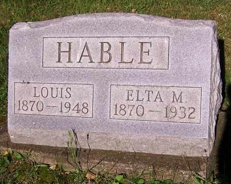 ROUSH HABLE, ELTA M. - Stark County, Ohio | ELTA M. ROUSH HABLE - Ohio Gravestone Photos