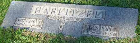 HABLITZEL, WILBUR W. - Stark County, Ohio | WILBUR W. HABLITZEL - Ohio Gravestone Photos