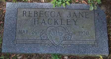 HACKLEY, REBECCA JANE - Stark County, Ohio | REBECCA JANE HACKLEY - Ohio Gravestone Photos