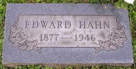 HAHN, EDWARD - Stark County, Ohio | EDWARD HAHN - Ohio Gravestone Photos