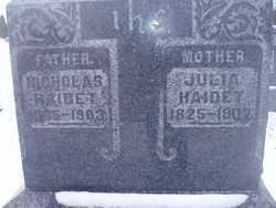 GIRARDET HAIDET, JULIA - Stark County, Ohio   JULIA GIRARDET HAIDET - Ohio Gravestone Photos