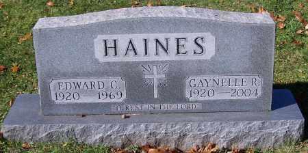 HAINES, GAYNELLE R. - Stark County, Ohio | GAYNELLE R. HAINES - Ohio Gravestone Photos