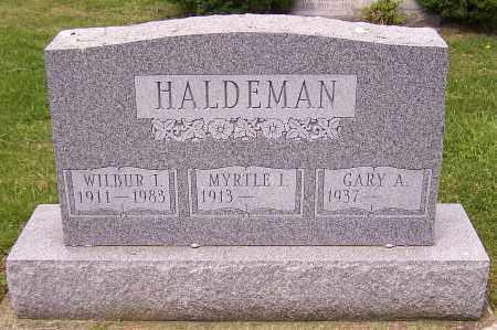HALDEMAN, WILBUR I. - Stark County, Ohio | WILBUR I. HALDEMAN - Ohio Gravestone Photos