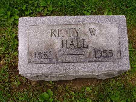 HALL, KITTY - Stark County, Ohio | KITTY HALL - Ohio Gravestone Photos