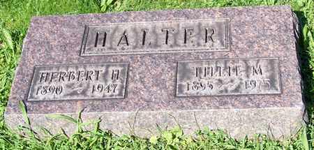 HALTER, TILLIE M. - Stark County, Ohio | TILLIE M. HALTER - Ohio Gravestone Photos