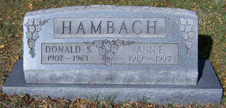 HAMBACH, DONALD S. - Stark County, Ohio | DONALD S. HAMBACH - Ohio Gravestone Photos