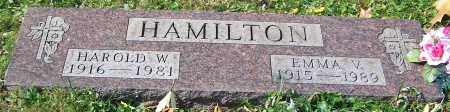 HAMILTON, HAROLD W. - Stark County, Ohio   HAROLD W. HAMILTON - Ohio Gravestone Photos