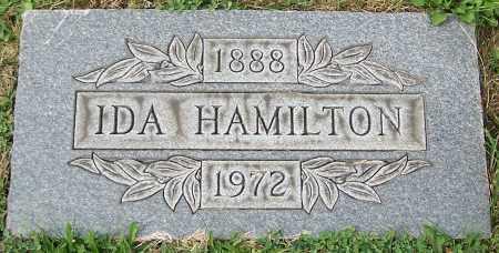 HAMILTON, IDA - Stark County, Ohio   IDA HAMILTON - Ohio Gravestone Photos
