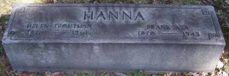 HANNA, HELEN TROUTMAN - Stark County, Ohio | HELEN TROUTMAN HANNA - Ohio Gravestone Photos