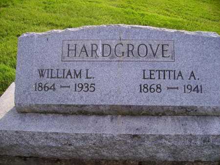 HARDGROVE, WILLIAM L. - Stark County, Ohio | WILLIAM L. HARDGROVE - Ohio Gravestone Photos