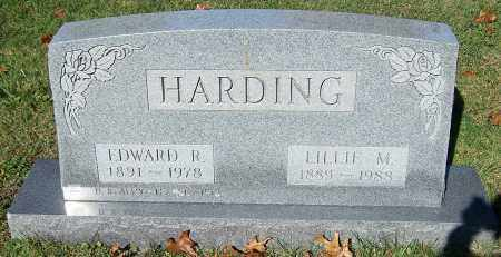 HARDING, LILLIE M. - Stark County, Ohio   LILLIE M. HARDING - Ohio Gravestone Photos
