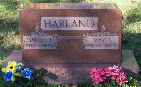 HARLAND, MAY F. - Stark County, Ohio | MAY F. HARLAND - Ohio Gravestone Photos