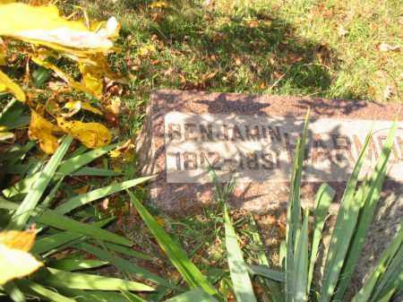 HARMONY, BENJAMIN - Stark County, Ohio | BENJAMIN HARMONY - Ohio Gravestone Photos