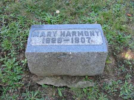 SNYDER HARMONY, MARY - Stark County, Ohio | MARY SNYDER HARMONY - Ohio Gravestone Photos