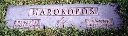 HAROKOPOS, JEANNE - Stark County, Ohio | JEANNE HAROKOPOS - Ohio Gravestone Photos