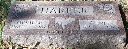 HARPER, ANNE - Stark County, Ohio | ANNE HARPER - Ohio Gravestone Photos