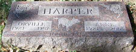HARPER, ORVILLE - Stark County, Ohio | ORVILLE HARPER - Ohio Gravestone Photos