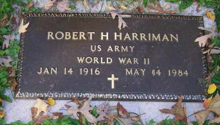 HARRIMAN, ROBERT H. - Stark County, Ohio | ROBERT H. HARRIMAN - Ohio Gravestone Photos