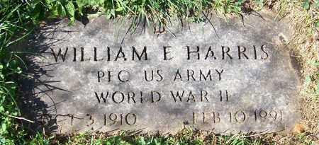 HARRIS, WILLIAM E. - Stark County, Ohio | WILLIAM E. HARRIS - Ohio Gravestone Photos