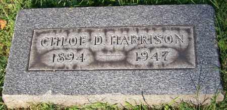 HARRISON, CHLOE D. - Stark County, Ohio | CHLOE D. HARRISON - Ohio Gravestone Photos