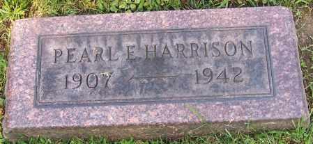 HARRISON, PEARL E. - Stark County, Ohio   PEARL E. HARRISON - Ohio Gravestone Photos