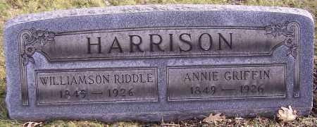 HARRISON, ANNIE GRIFFIN - Stark County, Ohio | ANNIE GRIFFIN HARRISON - Ohio Gravestone Photos