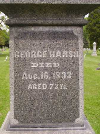 HARSH, GEORGE - Stark County, Ohio | GEORGE HARSH - Ohio Gravestone Photos